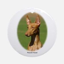 Pharaoh Hound Ornament (Round)