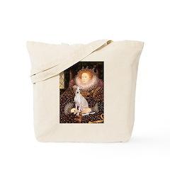 Queen / Italian Greyhound Tote Bag