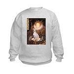 Queen / Italian Greyhound Kids Sweatshirt