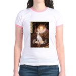 Queen / Italian Greyhound Jr. Ringer T-Shirt