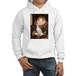 Queen / Italian Greyhound Hooded Sweatshirt