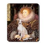Queen / Italian Greyhound Mousepad