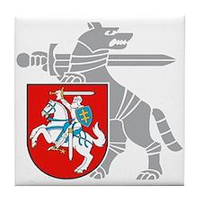 LT Defense Ministry Vytis Tile Coaster