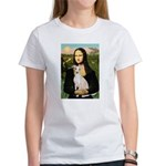 Mona Lisa / Ital Greyhound Women's T-Shirt