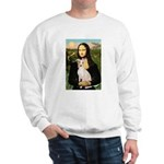 Mona Lisa / Ital Greyhound Sweatshirt
