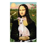 Mona Lisa / Ital Greyhound Postcards (Package of 8