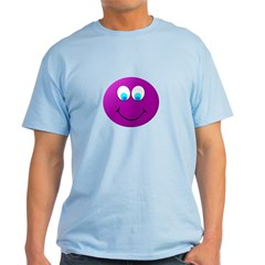 Purple Smiley Face T-Shirt