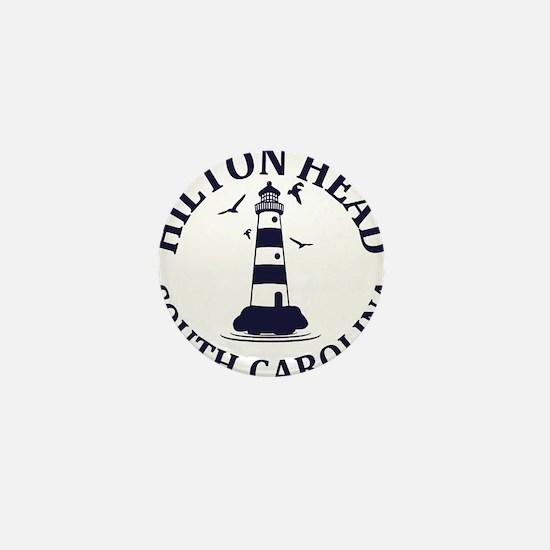 Summer hilton head- south carolina Mini Button