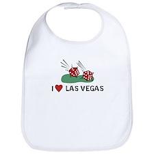 I Heart Las Vegas Bib