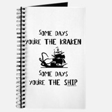 Some days the kraken, some days the ship Journal