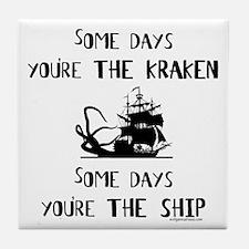 Some days the kraken, some days the ship Tile Coas