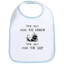 Some days the kraken, some days the ship Bib