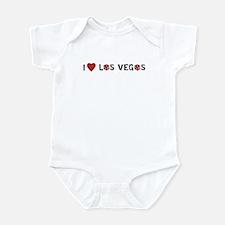 I Heart Las Vegas Infant Bodysuit