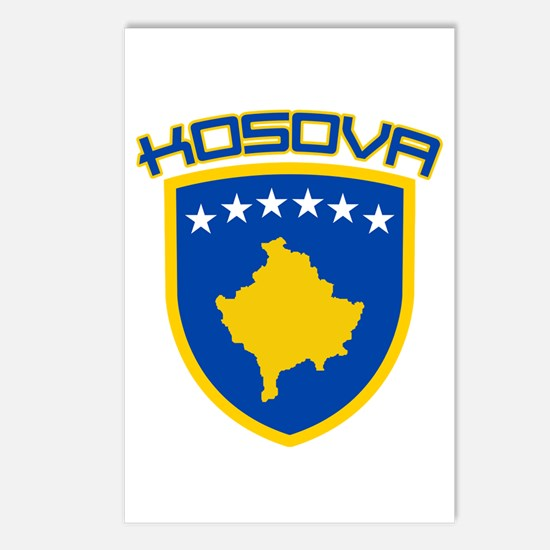 Kosova Coat of Arms Postcards (Package of 8)