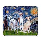 Italian greyhound Mouse Pads