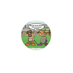 The Masons Wheel Mini Button (100 pack)