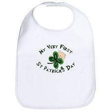 First St. Patrick's Baby Bib