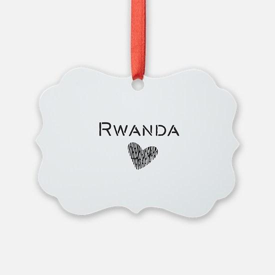 Rwanda Ornament