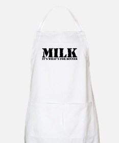 Milk for dinner BBQ Apron