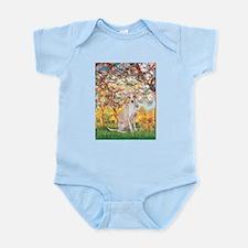 Spring / Italian Greyhound Infant Bodysuit