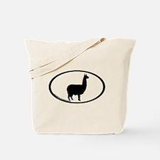 alpaca oval Tote Bag