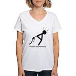 Assume the Position Women's V-Neck T-Shirt