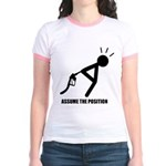 Assume the Position Jr. Ringer T-Shirt