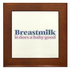 Breastmilk Framed Tile