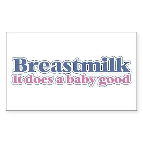 Breastmilk Rectangle Sticker