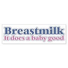 Breastmilk Bumper Bumper Sticker