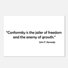 Conformity Postcards (Package of 8)
