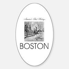 ABH Boston Sticker (Oval)