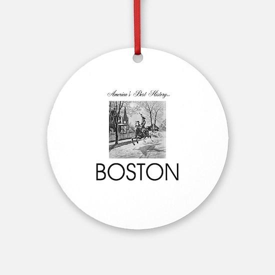 ABH Boston Round Ornament