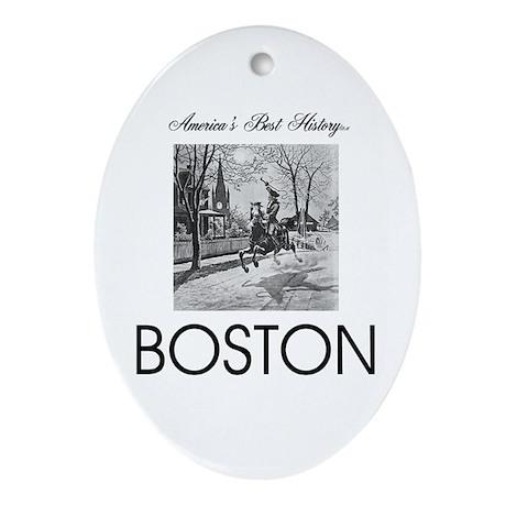 ABH Boston Ornament (Oval)
