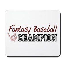 Fantasy Baseball Champion Mousepad