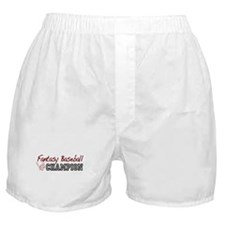 Fantasy Baseball Champion Boxer Shorts