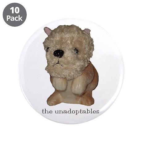 "Unadoptables 2 3.5"" Button (10 pack)"