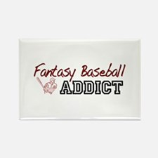 Fantasy Baseball Addict Rectangle Magnet