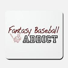Fantasy Baseball Addict Mousepad