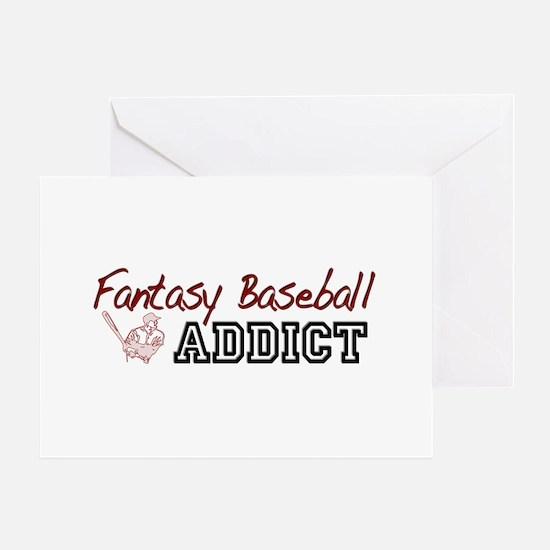 Fantasy Baseball Addict Greeting Card