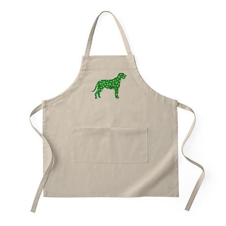Shamrocks Irish Wolfhound BBQ Apron