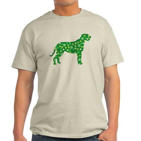 Shamrocks Irish Wolfhound Light T-Shirt