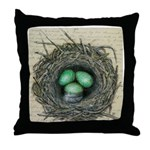 Crows Nest II Throw Pillow