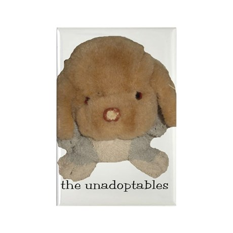 Unadoptables 3 Rectangle Magnet (10 pack)