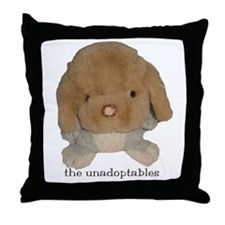 Unadoptables 3 Throw Pillow