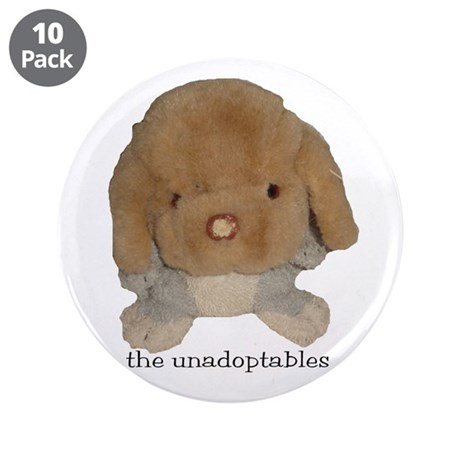 "Unadoptables 3 3.5"" Button (10 pack)"
