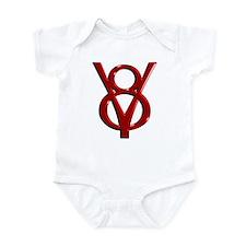 Red Chrome Infant Bodysuit