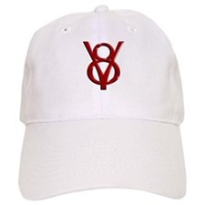 Red Chrome Baseball Cap