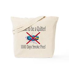 1000 Days Smoke Free Tote Bag