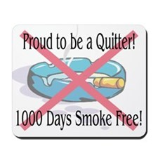 1000 Days Smoke Free Mousepad